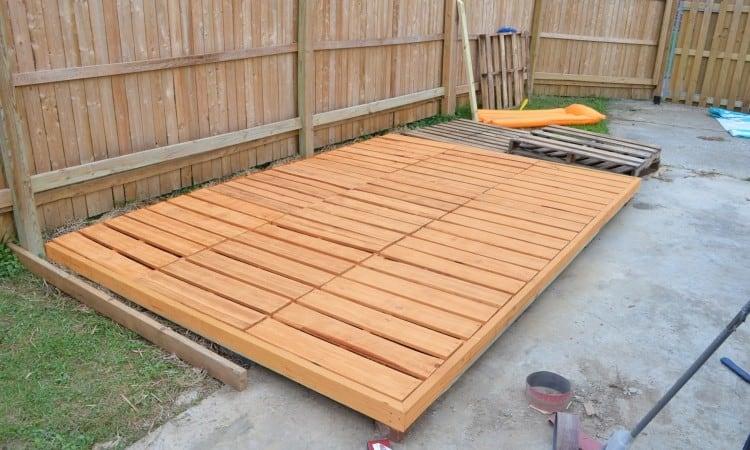 21 pallet deck ideas designs and plans