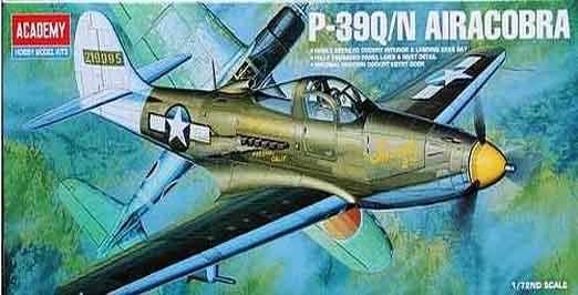 Bell P-39Q/N Airacobra a escala 1/72