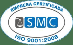 Somos Certificado pela SMC ISO 9001:2008