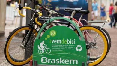 Foto de Sustentabilidade – Cidade Recebe Bicicletário de Plástico Reciclado