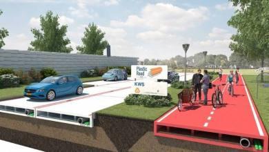 Foto de Holanda será o primeiro país do mundo com estradas e ruas de plástico reciclado