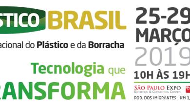 Foto de Plástico Brasil 2019 registra 57% de aumento no credenciamento