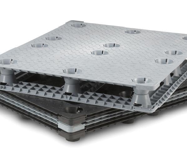 Stackable Plastic Pallet GPI-4840
