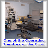 One of the Cosmetic Surgery Operating Theatres where plastic surgery cost less