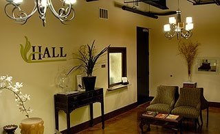 Hall Plastic Surgery Austin Waiting Room