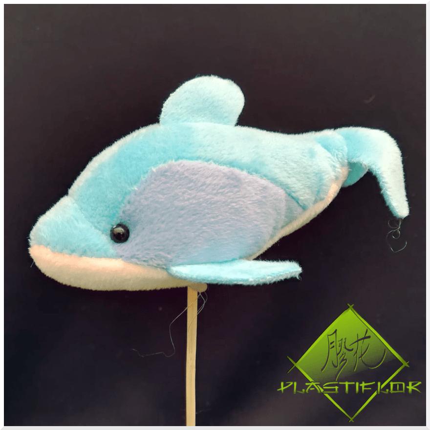 Dauphin sur stick ©Plastiflor