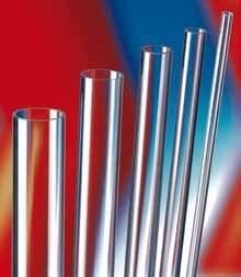 tube pmma extrude transparent 2000 x o60 x 5 mm