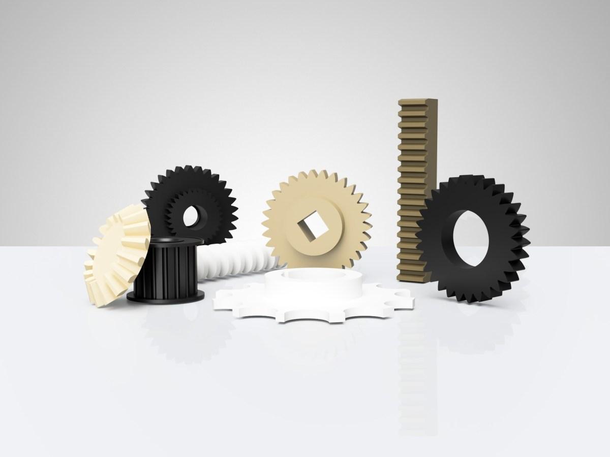 Шестерни готовые изделия от Plastmass Group