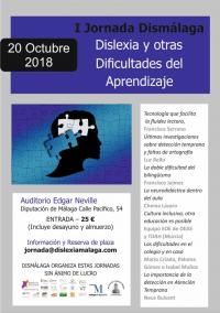 Jornada de dislexia en Málaga: ¡reserva tu plaza ya!