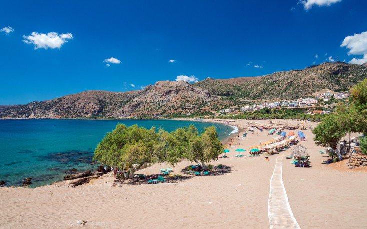 Pachia Ammos beach, Paleochora