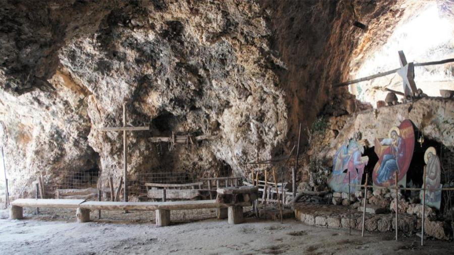 The Cave of St John the Hermit