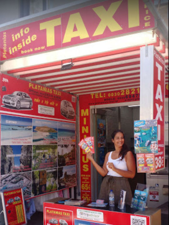 platanias taxi office 2