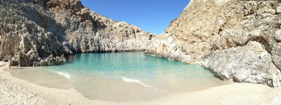 Amazing Seitan Limania beach