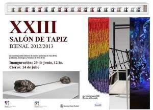 1 Invitación XXIII Salon Del Tapiz