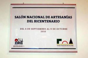 Salón del bicentenario Fondo Nacional de las Artes Buenos Aires Argentina