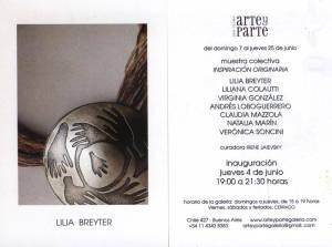 Inspiración Originaria - Galería  Arte y Parte Buenos Aires, Argentina