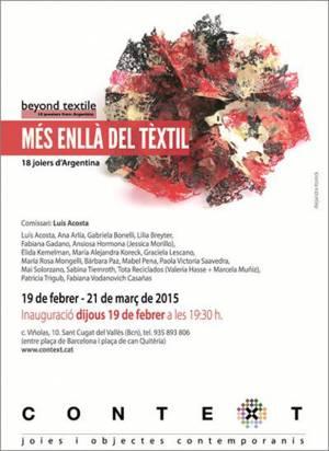 Beyond Textil - Sant Cugat del Valles Galería CONTEXT España