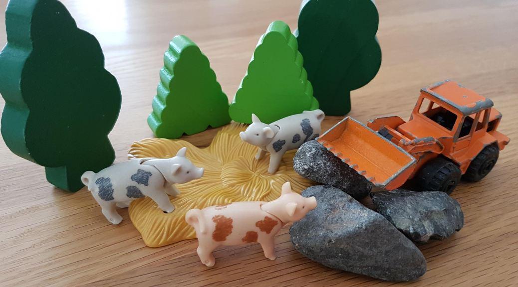 Les trois petits cochons s'installent à Châteaugay et voici une nouvelle carrière qui s'ouvre