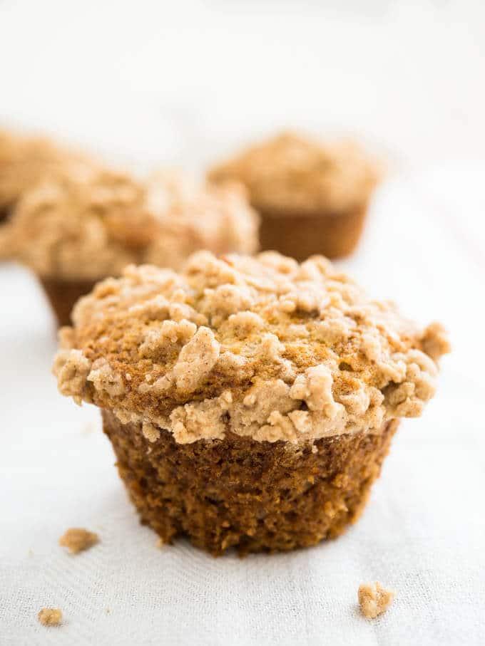 Banana Streusel Crumb Recipes Cake Topping
