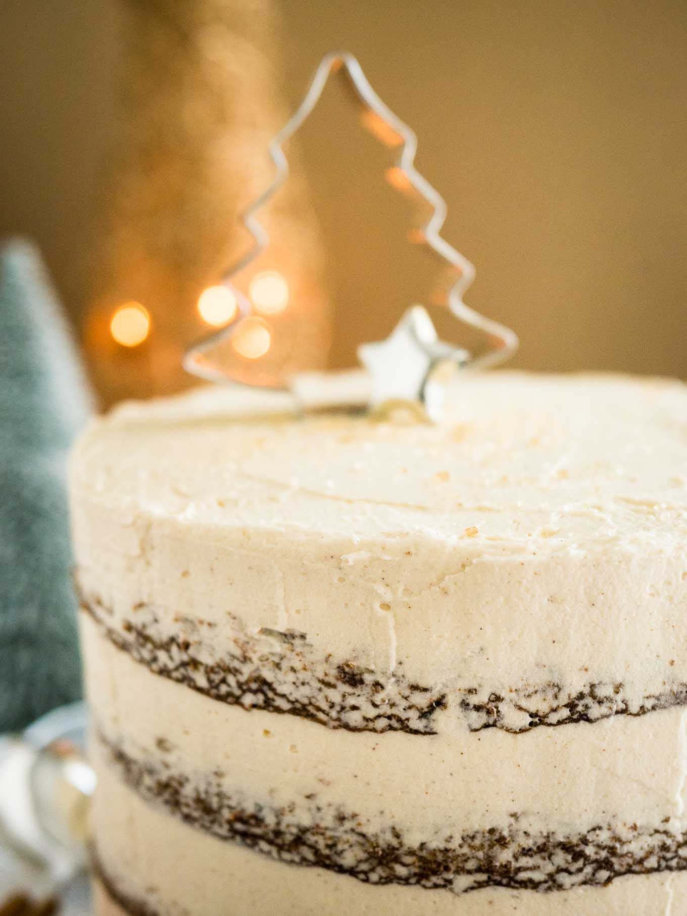 Easy Gingerbread Cake Recipe With Baileys Cream Cheese