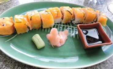 Tiger Sushi Roll (Salmon)