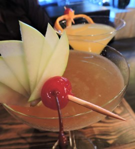 Off-menu cocktails crafted based on our preference of sweetness and alcohol