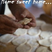 Cherry Dumplings/ Pierogi again- summer version- Home sweet home part 1