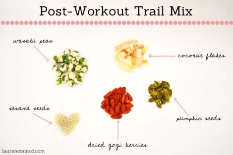 Post-workout trail mix
