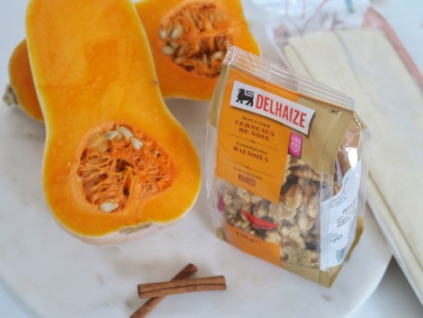 The ingredients have been provided by Delhaize Supermarket