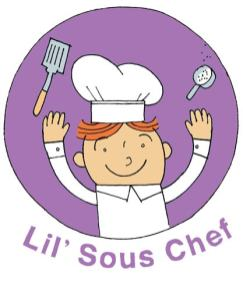 Lil Sous Chef Crescent Hot Dogs with Homeade Veggie Dipping Sauce