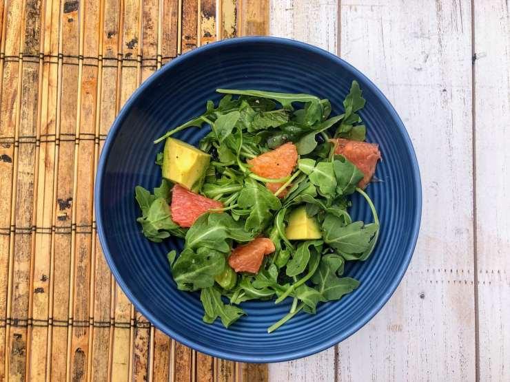 Grapefruit, Avocado & Arugula Salad