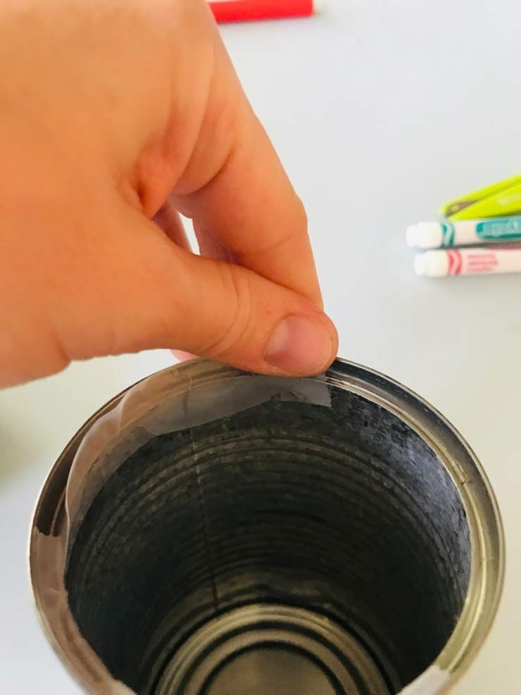 adding tape to inner rim can