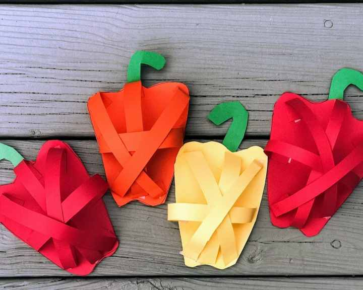 four popout peppers