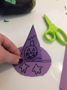 Putting together witch hat
