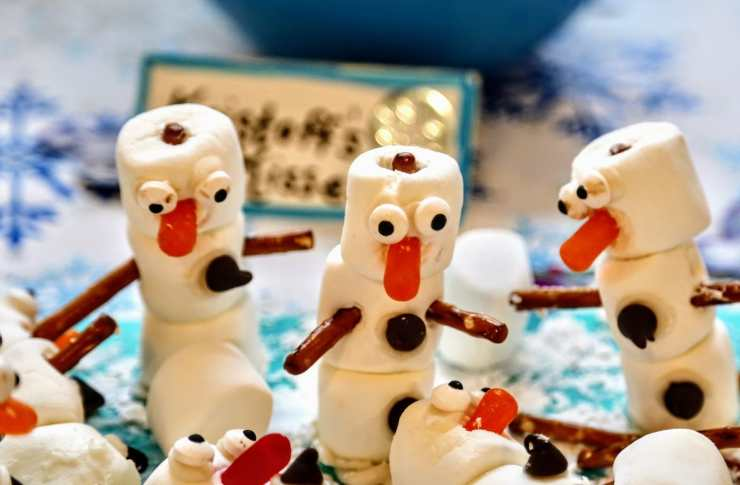marshmellow snowmen