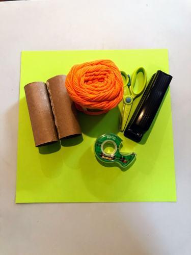 supplies DIY carrot