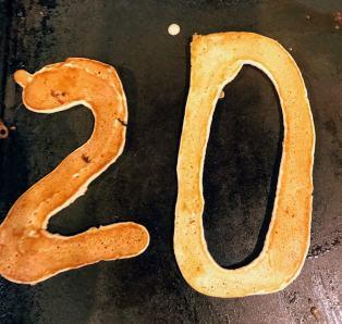 pancake numbers 2 and 0
