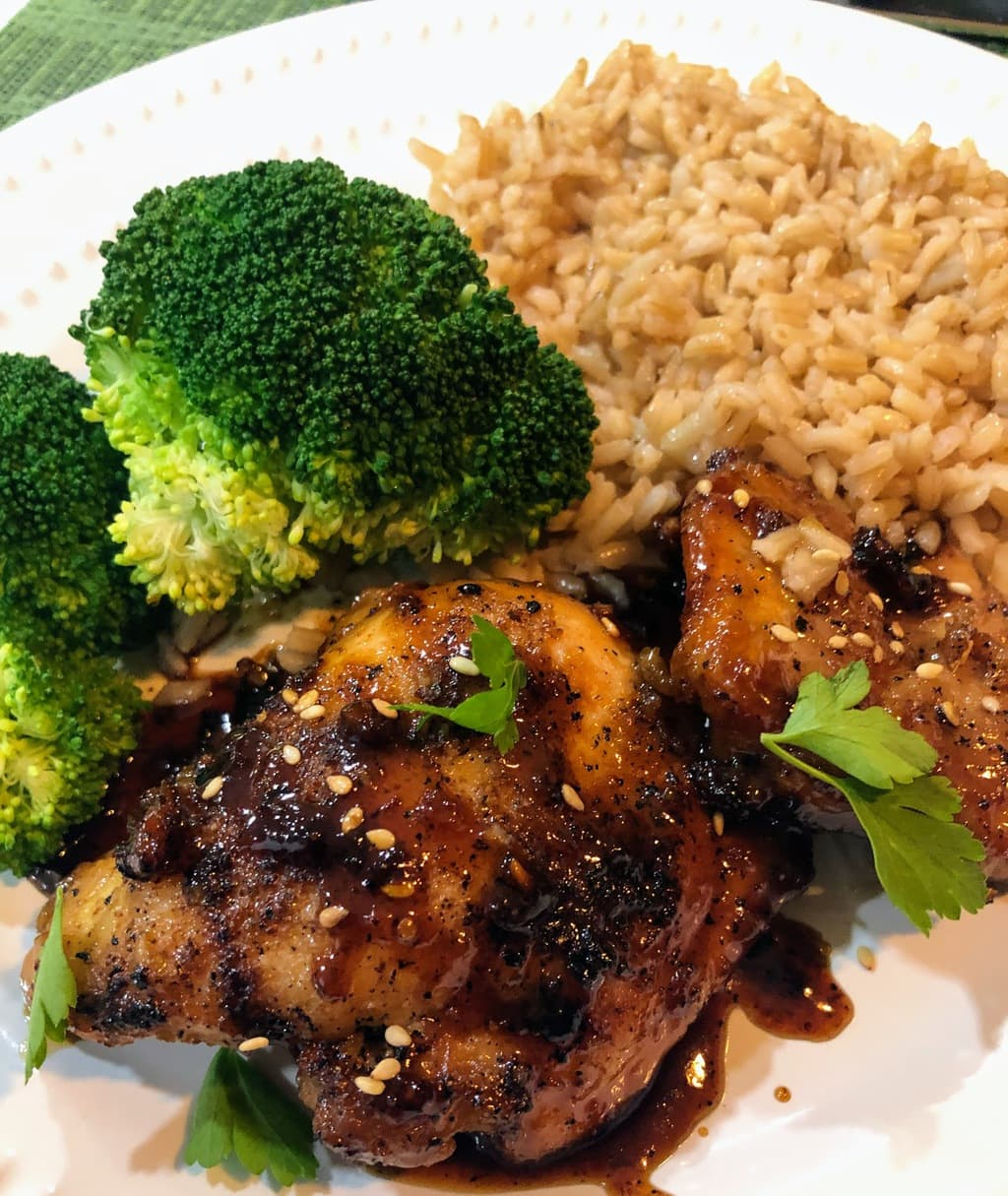 Easy Honey Garlic Chicken Thighs