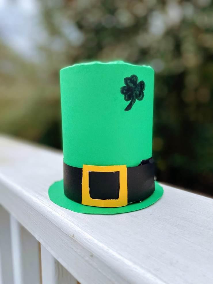 DIY Tin Can Leprechaun Hat1