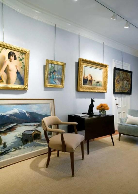 Platemark Interior Design Newbury Street Gallery Chair Art