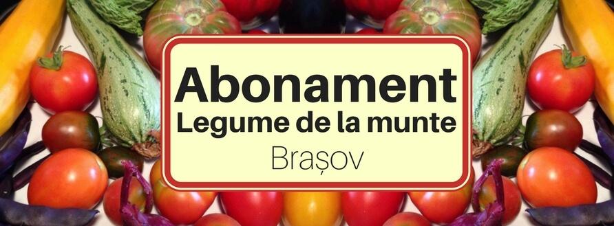Abonament legume Brașov: susține producătorul să cultive ce vrei tu