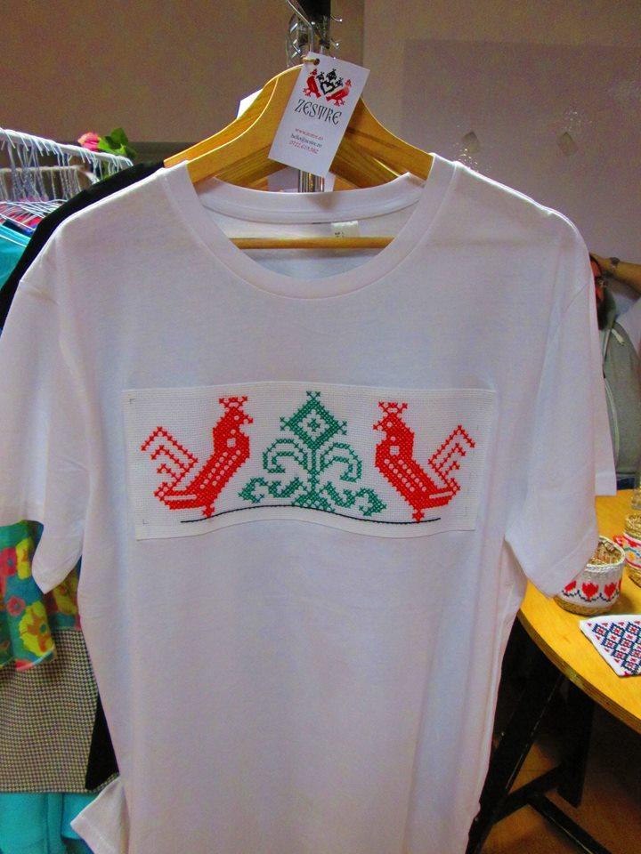 Tricou ZESTRE cu logo Zestre