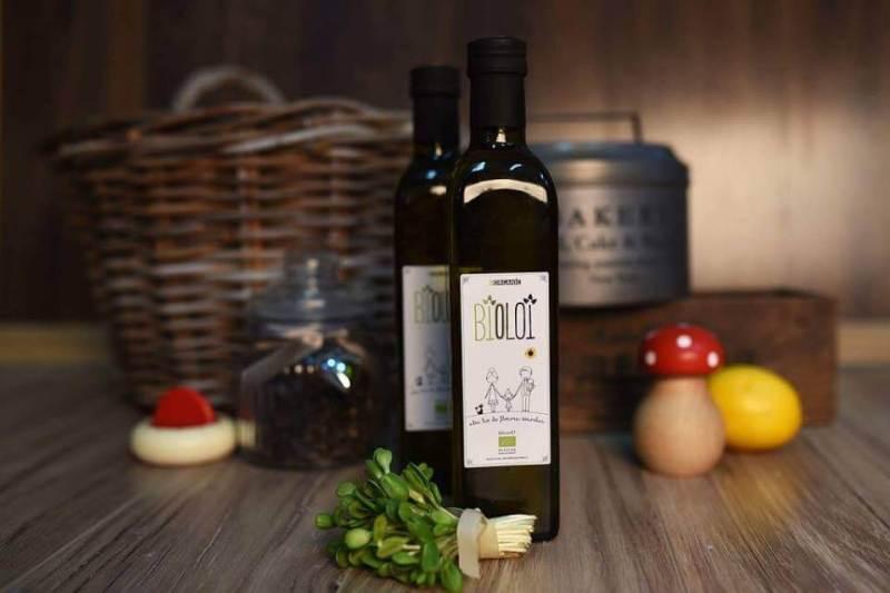 Ulei presat la rece bio floarea soarelui BIOLOI, ulei organic din seminte romanesti