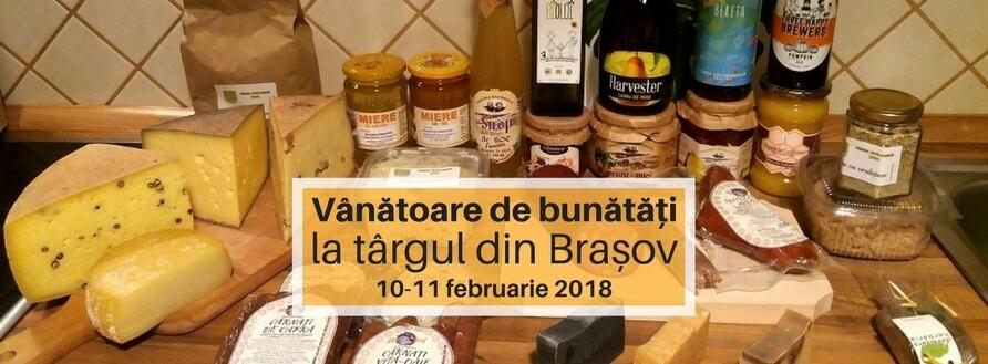 Târg cu bunătăți, Brașov, patru ore între zece producători