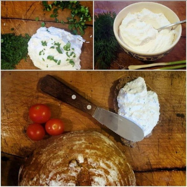 Brânza tartinabilă de la Ferma Hărman