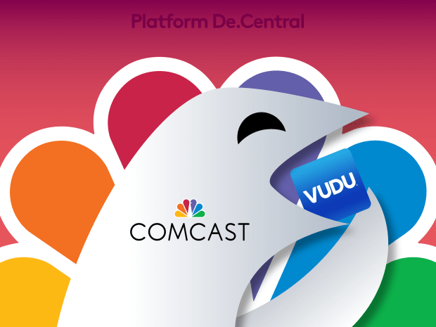 Comcast close to acquiring Walmart's Vudu Streaming Service