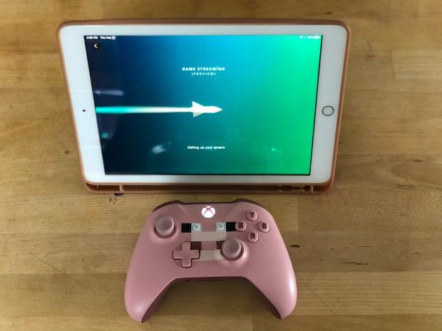 XCloud on iPad walk-through