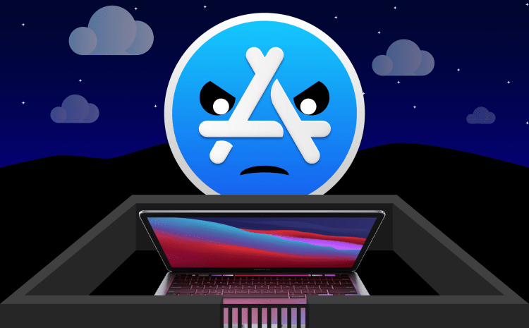 In the Land of Trillion Dollar Goliaths | Apple blocks sideloading iOS apps on M1 Macs