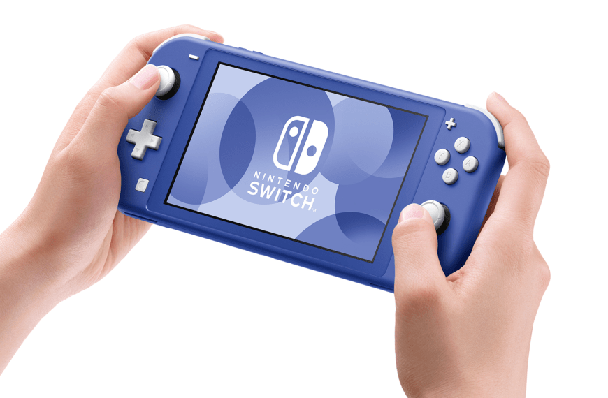 Nintendo launches Switch Lite in a fresh new Blue color