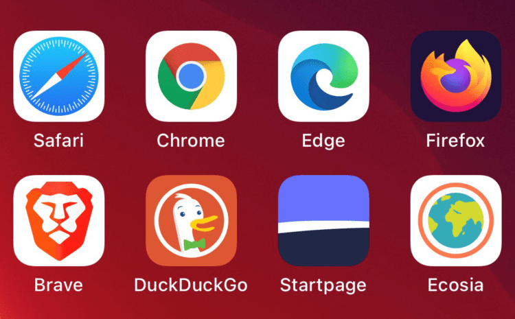 How to set a default web browser in iOS